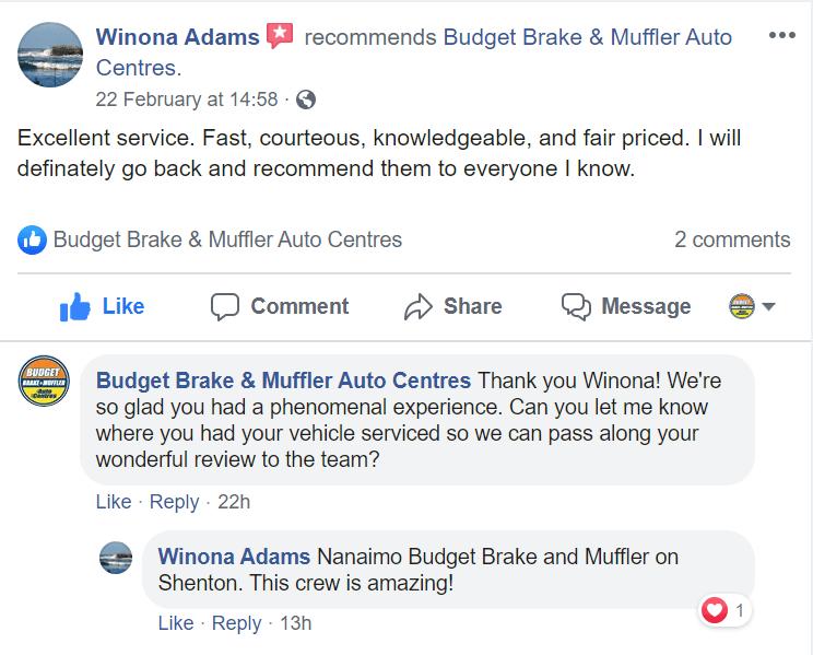 Nanaimo FB review